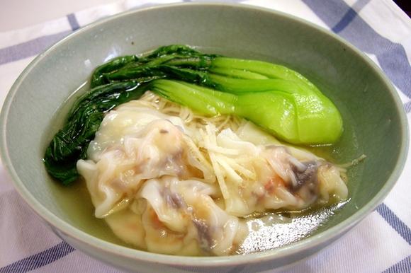 プリプリ簡単海老ワンタン麺
