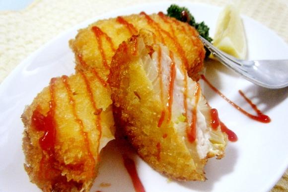 ささみチーズの玉ねぎサンドフライ