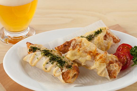 ちくわのパリパリチーズ焼き