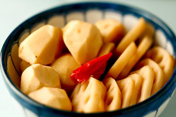 里芋のポン酢煮
