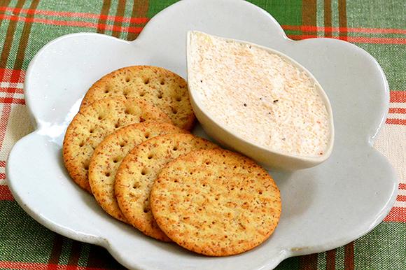 明太子とクリームチーズのディップ