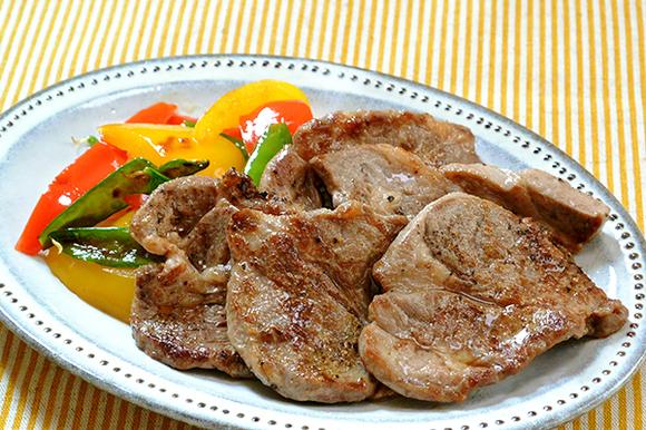 ラム肉のスパイシー焼き