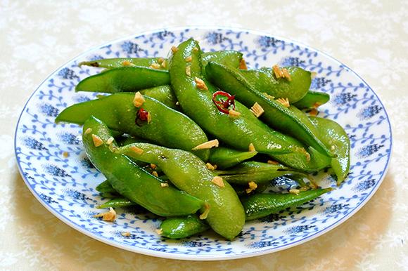 ハワイ風ガーリック枝豆