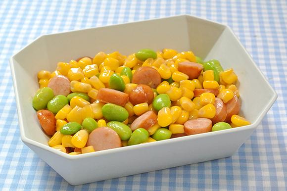 枝豆コーンバター